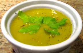 Soup of the week: Green soup