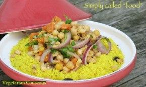 Vegetarian couscous