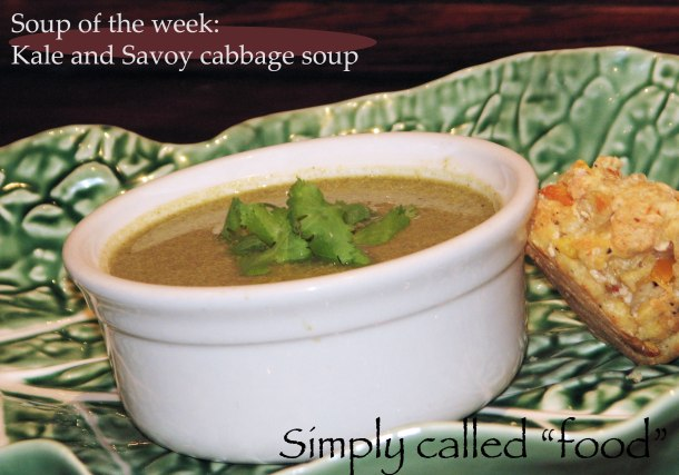 Kale and Savoy soup