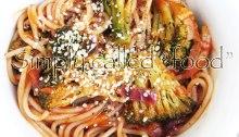 Spaghetti with vegan rosé sauce