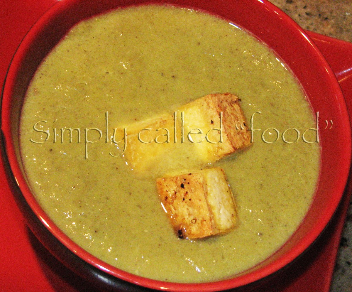 Soup of the week: Asparagus and mushroom soup