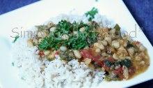 Onion and white bean ragout