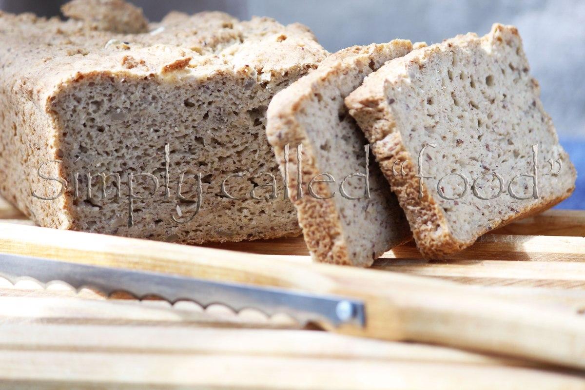Gluten free oat bread