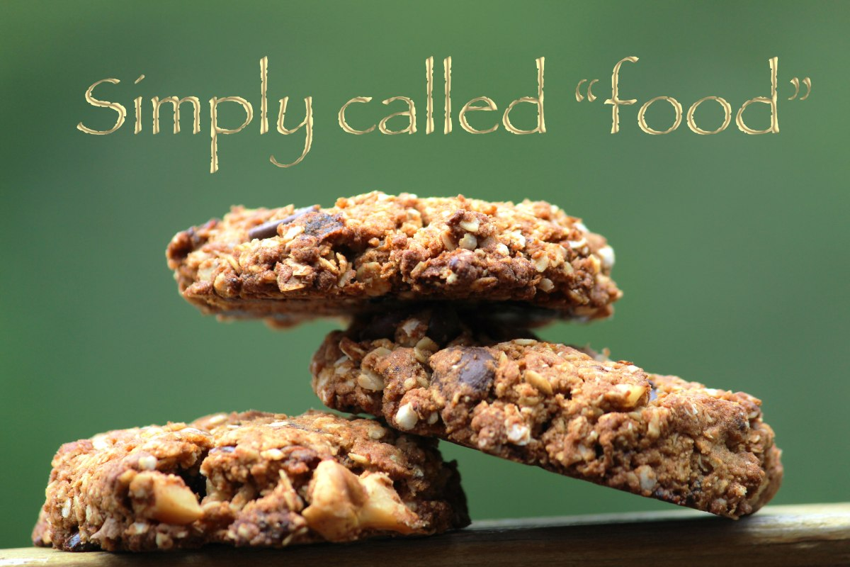 Gluten free oatmeal and dates cookie
