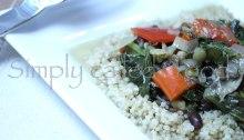 Coconut kale and lentil