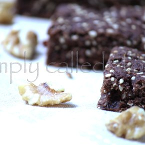 Gluten free chocolate and nutbars