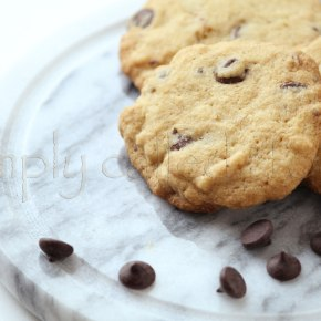 Gluten free chocolate chips cookies