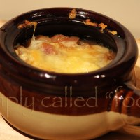 Soup of the week: Grated onion soup
