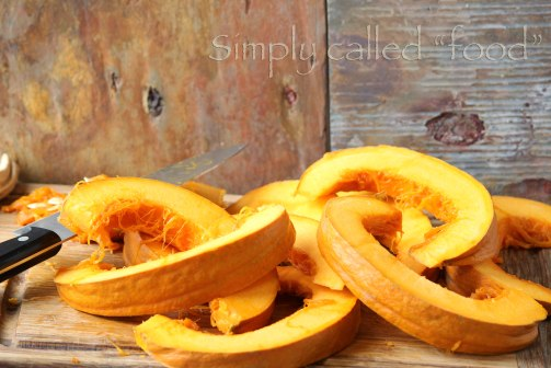 Pumpkin slices