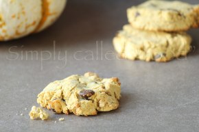 Gluten free pumpkincookies