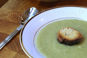 Soup of the week: Cream of broccoli and cauliflower