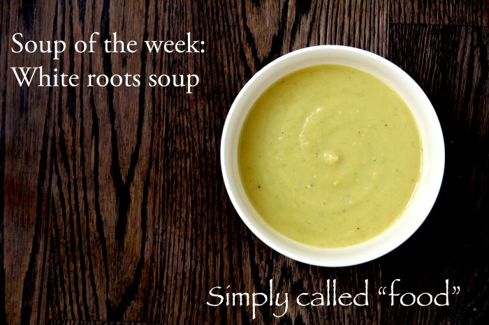 White root soup