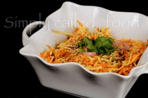 Carrot and parsnip salad