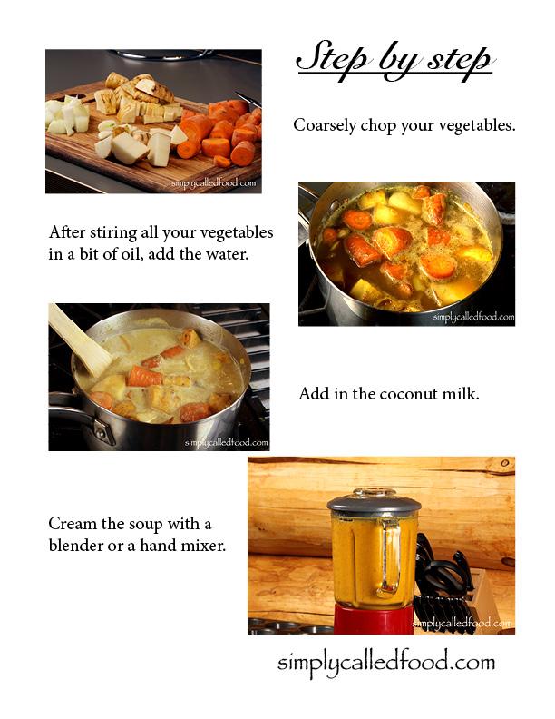 Steps soup