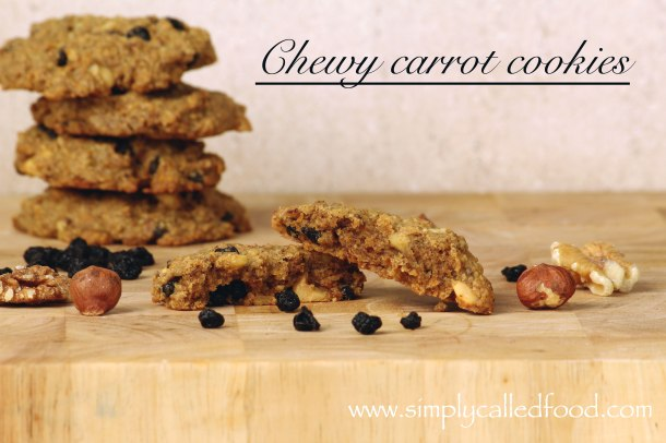 Chewy carrot cookies