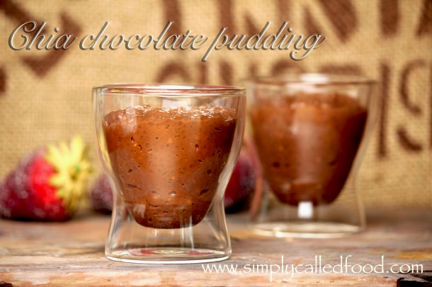 Chia chocolate pudding