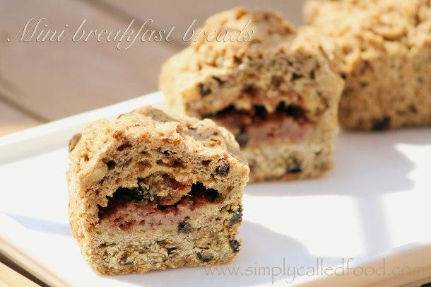 Mini breakfast bread