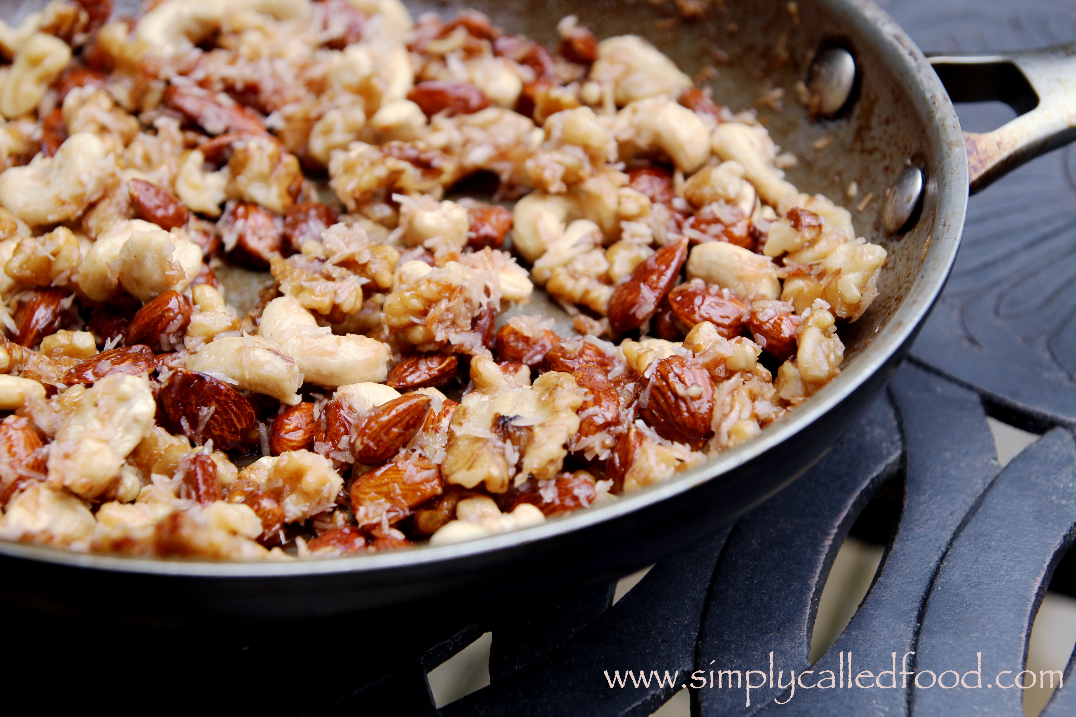 "Trail mix with maple glazed nuts | Simply called ""Food"""