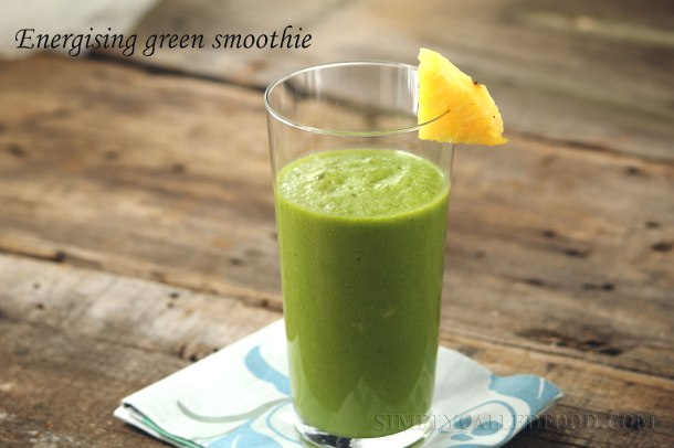 Energising green smoothie