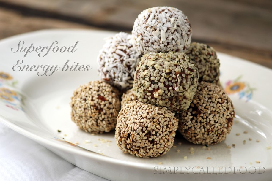 """""""Superfood"""" energy bites by Simply Called"""