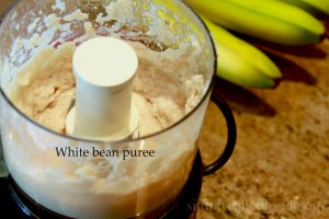White bean puree